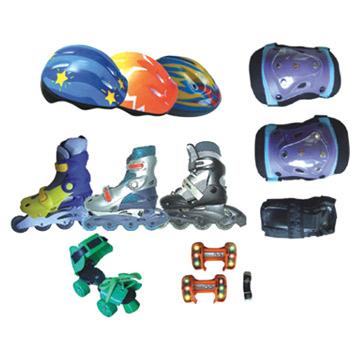 In-Line Skate, Helmet, Protector (In-Line коньки, шлем, протектор)
