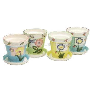 Ceramic Flower Pots (Цветочные горшки керамические)