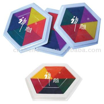 Plastic Suction Ink Pads