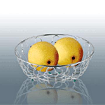 Plated Decorative Fruit Basket (Декоративные покрытия Корзина с фруктами)