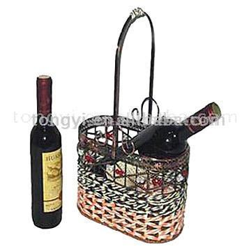 Metal Wine Basket (Металл Винные корзины)