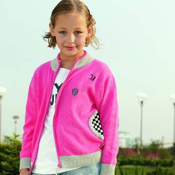 Girl`s Cardigan Sweater (Girl`s кардиган свитер)