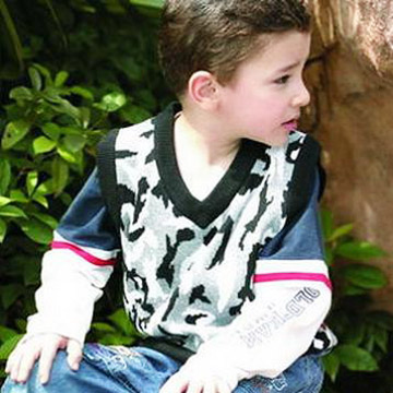 Boy`s Vest Sweater