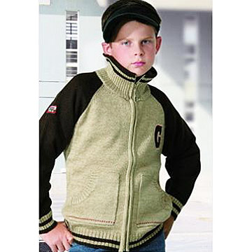 Boy`s Cardigan Sweater