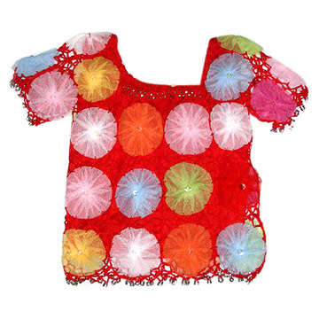 Children`s Hand Crochet Top