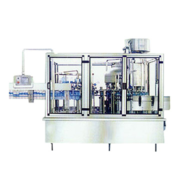 Washing-Filling-Capping 3-In-1 Unit (Lave-Filling-Bouchage 3-In-1 Unité)