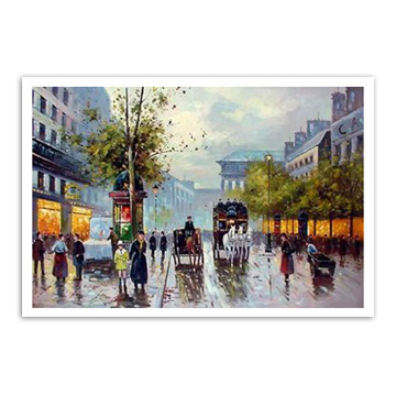 Oil Painting (Street View) (Масляной живописи (Str t View))