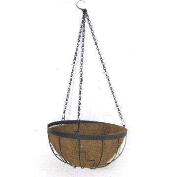 Wire Basket with Coco Mat (Проволочную корзину с Коко Матем)