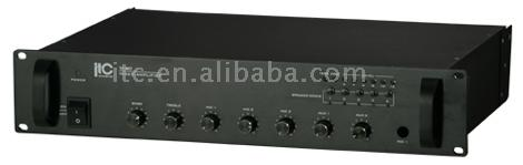 Public Address Mixer Amplifier with Speaker Selector (Public Address Mixer Amplifier with Speaker Selector)