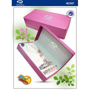 Gift Set with Jewelery, Ladies` Fanshionalbe Watch Set (Подарочный набор с Бижутерия, женские Fanshionalbe Смотреть Установить)