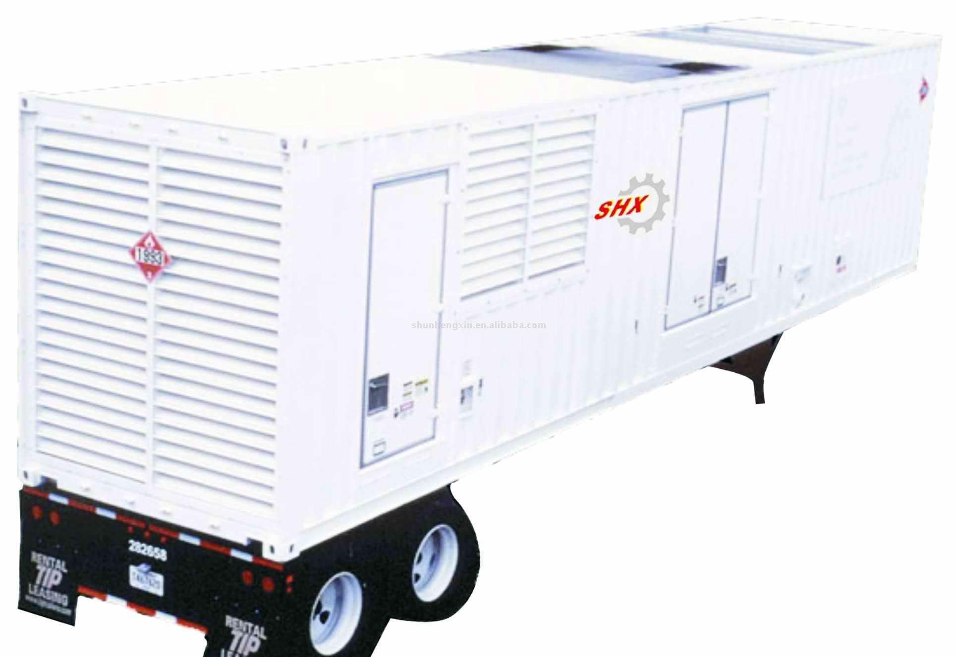 SHX-Cummins Soundproof Containerised Generator (SHX-Cummins Schallisolierung Container-Generator)