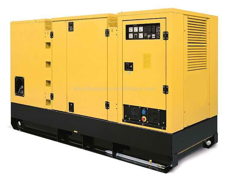 Diesel Generator Set 100KVA (80KW)(Soundproof Type) (Diesel Generator Set 100 KVA (80kW) (Schallisolierung Type))