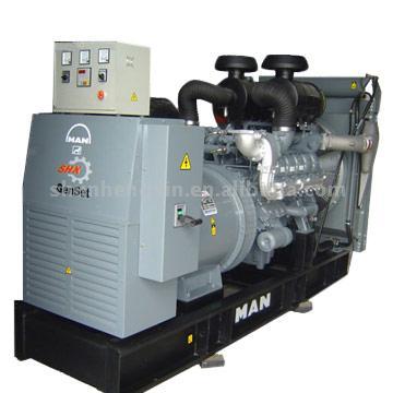 SHX - MAN Diesel Generator Set (SHX - MAN Diesel Generator Set)