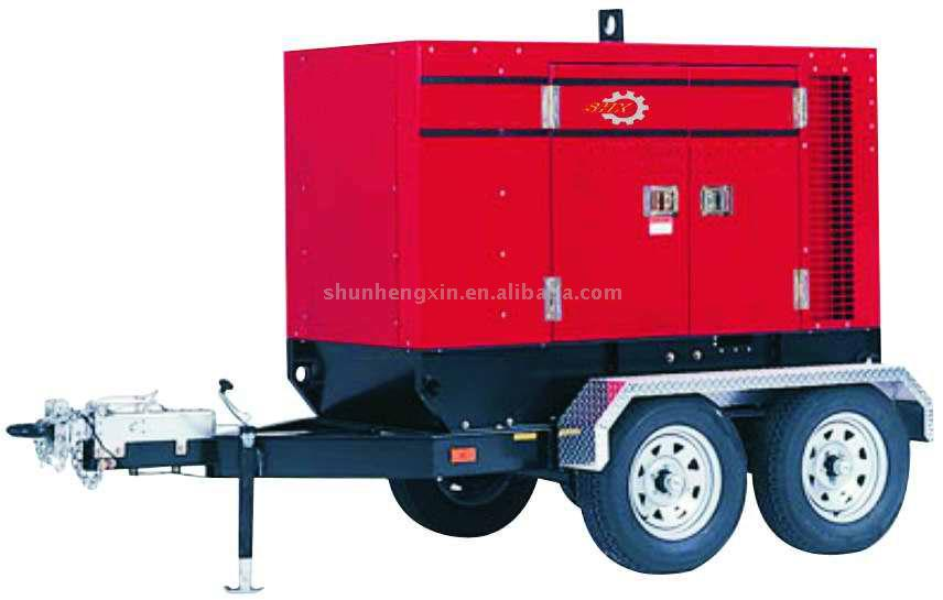 Mobile Trailer Mounted Generator Sets (Mobile Anhänger-Generator-Sets)