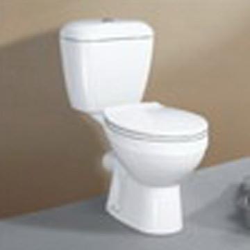 Siphonic Separated Toilet (Siphonic отдельный туалет)