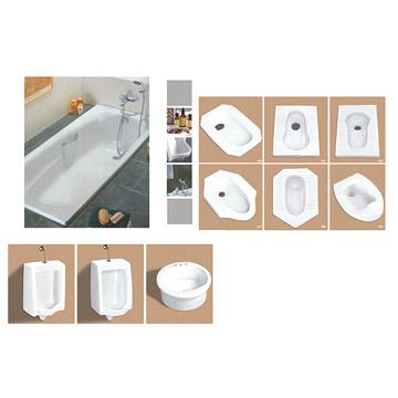 Urinals & Squatting Pans (Писсуар & корточках кастрюли)