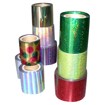 Glitter Bright,Anti-heatable PET Films for Spangle Sequins
