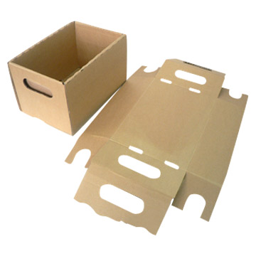 Corrugated Carton Boxes (Гофрированного картона коробки)