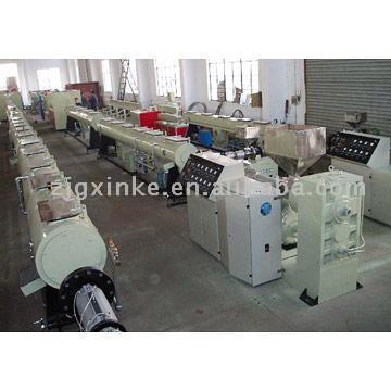 PVC, PE, PP Pipe Extrusion Production Line (PVC, PE, PP Pipe Extrusion Production Line)