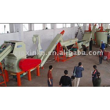 Waste PET Bottle Recycling Line
