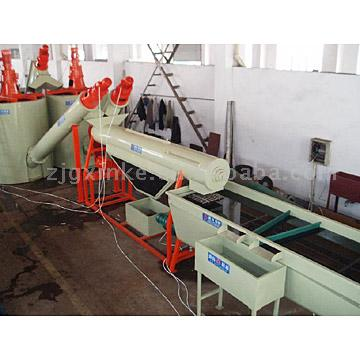 Plastic Waste Recycling Waschen Production Line (Plastic Waste Recycling Waschen Production Line)