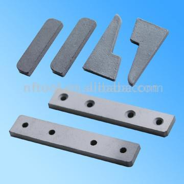 Blanks for Textile Machineary Accessories (Заготовки для текстильной M hineary аксессуары)