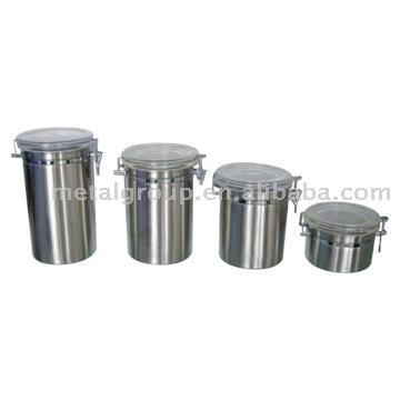 Stainless Steel Canisters (Канистры из нержавеющей стали)