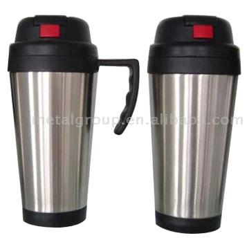 Stainless Steel Auto Mugs (Нержавеющая сталь Авто кружки)