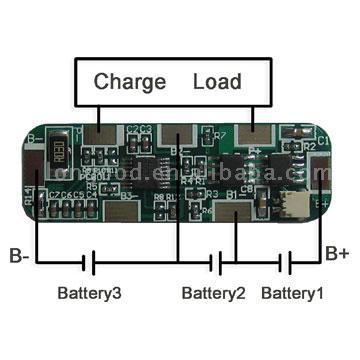 Li-Ion аккумулятор защита от короткого замыкания модуля.  Запрос в компанию.  Китай.