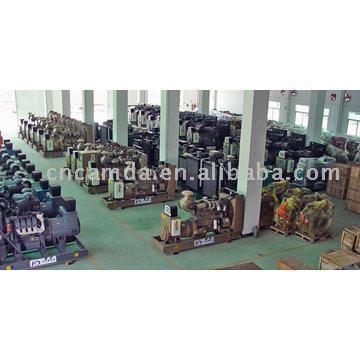 Diesel / Gas Generator Sets (Дизель / Газовые генераторные установки)