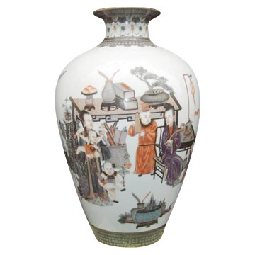 Ceramic Vase (Qing Dynasty)