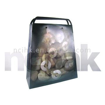 PP Rigid Handle Shopping Bag (New and Patent Design) ( PP Rigid Handle Shopping Bag (New and Patent Design))