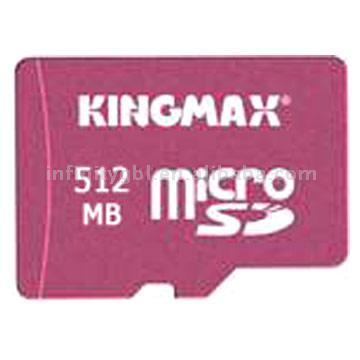 Micro SD 512MB Memory Card ( Kingmax Micro SD 512MB Memory Card