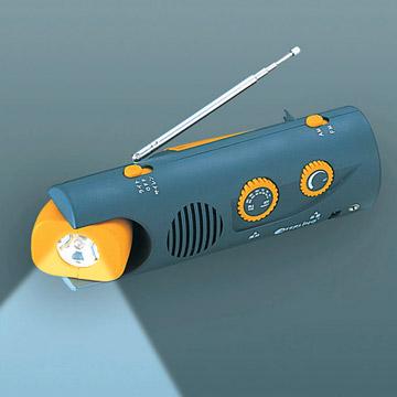 LED Hand Light With Radio&Alarm&Personal Power Supplier (Светодиодные Hand Light & Радио сигнализация Личная & Поставщик)