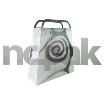 PP Rigid Handle Shopping Bag (New and Patent Design)