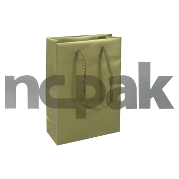 PP Gift Bag With Rope Handle ( PP Gift Bag With Rope Handle)