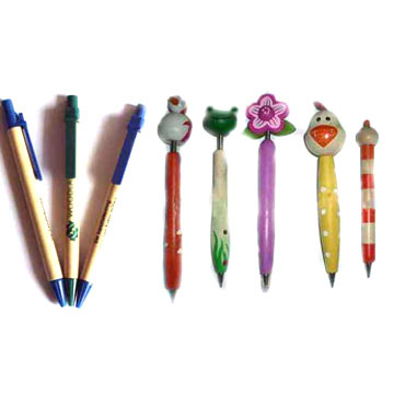 Wooden / Paper Ball Point Pens (Деревянный / Бумага Шариковая ручка)
