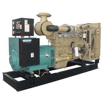 Cummins Engine Powered Generator Set (Двигателем Cummins-генераторная установка)