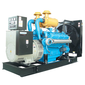 Shanghai Dongfeng Engine Powered Generator Set (Шанхай Дунфэн двигатель-генераторная установка)