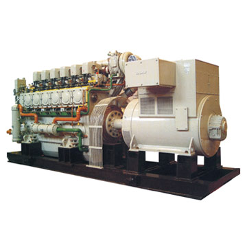 Sichuan Sunfull and Jinan Chidong Engine Powered Generator Set (Сычуань Sunfull и Цзинань Chidong двигатель-генераторная установка)