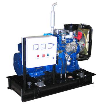 Chinese Engine Powered Generator Set (Китайский двигатель-генераторная установка)