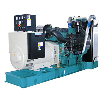 Volvo Engine Powered Generator Set (Volvo двигатель-генераторная установка)