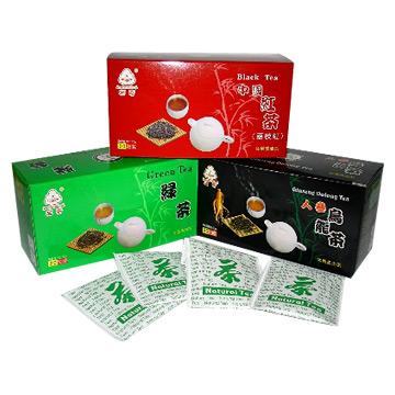 Black Tea, Green Tea and Ginseng Oolong Tea (Черный чай, зеленый чай и Женьшень Улун)