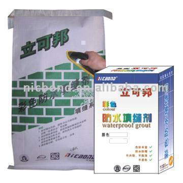 Color Waterproof Grout (Couleur Imperméable Grout)