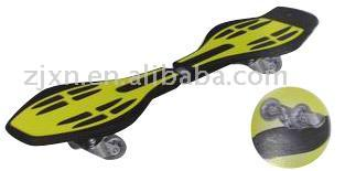 Four-Wheel Skateboard
