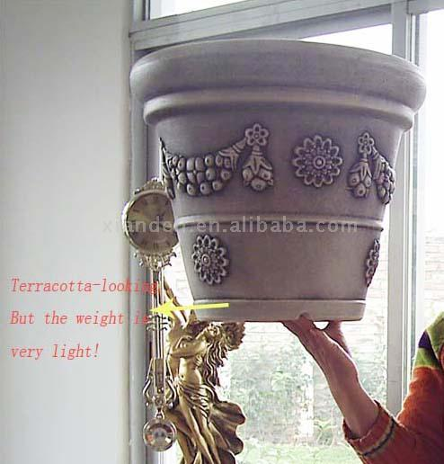 Imitation Terracotta Plastic Flowerpot (Имитация Терракотовая пластиковые Flowerpot)