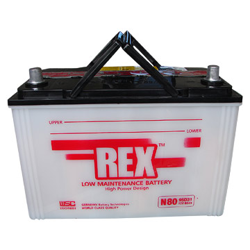 Automotive Dry Battery (JIS) (Automotive Dry Battery (JIS))
