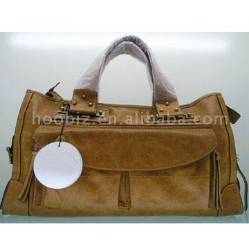 Brand Leather Handbag ( Brand Leather Handbag
