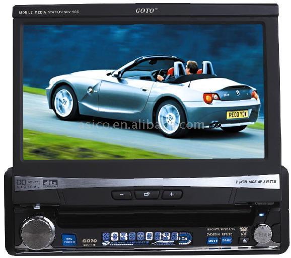 "Car DVD Player with 3.5"" TFT Monitor (Автомобильный DVD-плеер с 3,5 ""TFT монитор)"