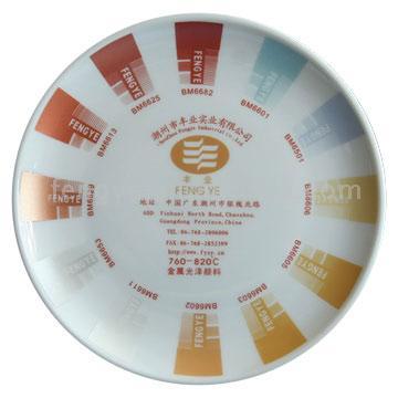 Ceramic Pigment- Metallic Effect Color (Керамический Пигмент-металлическим эффектом цвета)